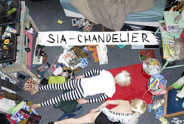 sia chandelier cover
