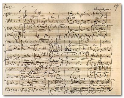 partition musique classique piano