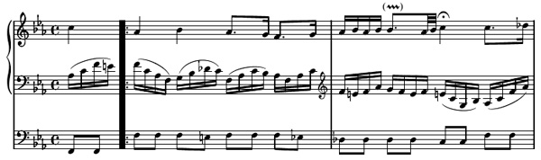 partition piano ich ruf zu dir